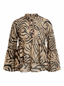 OBJECT ls top incense/tiger print
