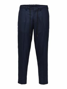 SELECTED homme crop pants navy