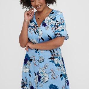 ONLY carmakoma dress placid blue