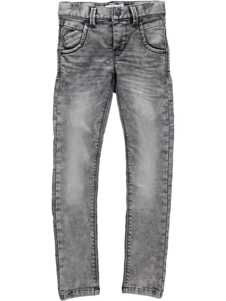 name it xsl dnm pant grey