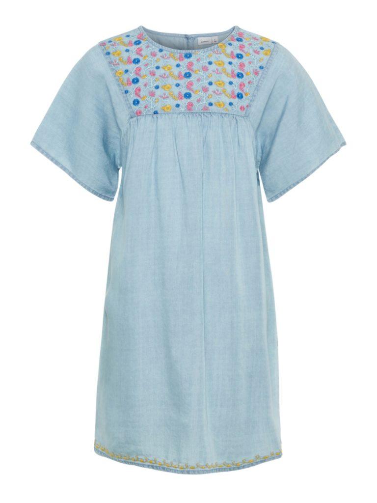 name it dress blue bonnet