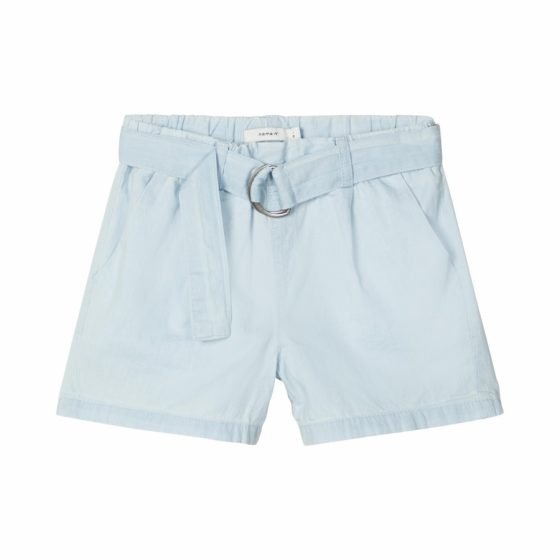 name it hw shorts light blue denim