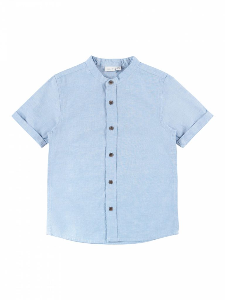 name it ss shirt sterling blue