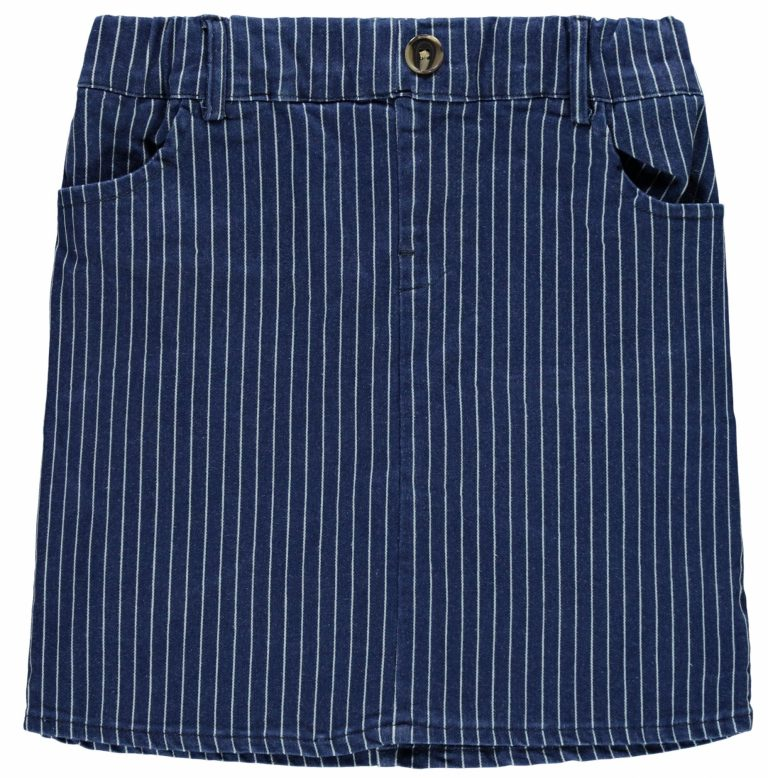 name it skirt blue denim