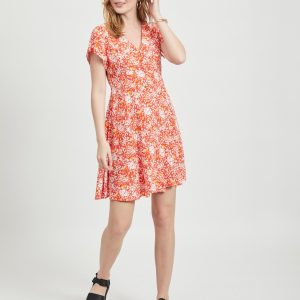 OBJECT dress poinciana/flower