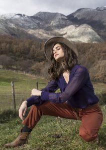 H2O italia blouse mirtillo