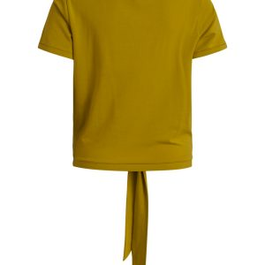 OBJECT s/s top antique moss