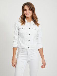 OBJECT jacket white denim