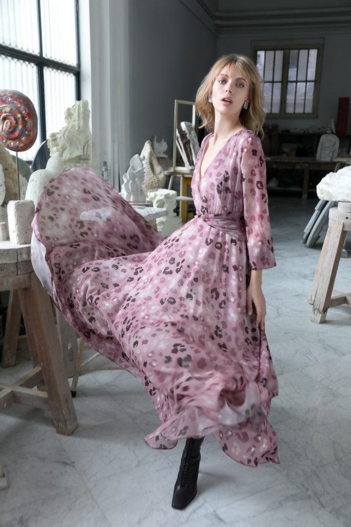 Pia B. concept long dress variante