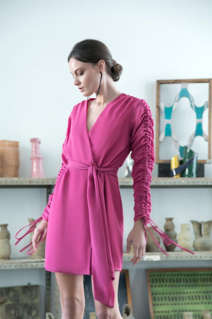 Pia B. concept dress pink