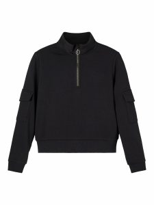 LMTD zip sweat black