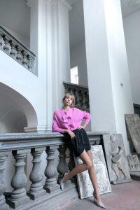 Pia B. concept skirt black/silver