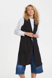 DENIM HUNTER waistcoat black