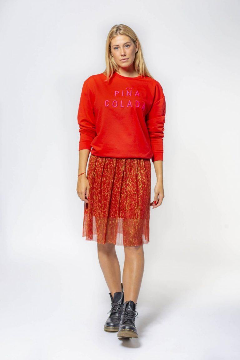 BLAKE SEVEN skirt orange