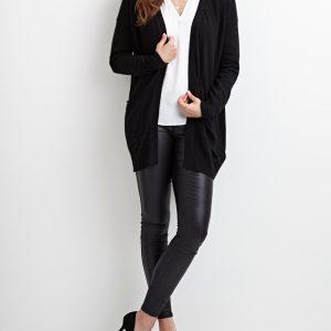 OBJECT ls knit cardigan black