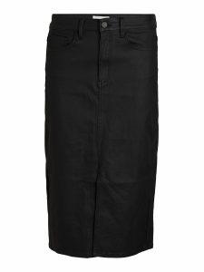 OBJECT coated skirt black