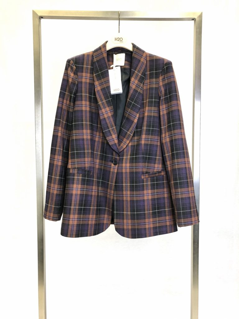 H20 italia blazer check