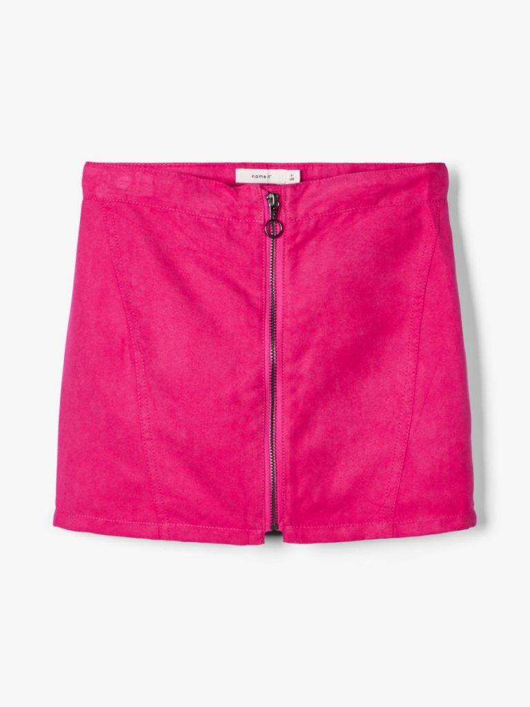 name it skirt fushcia purple