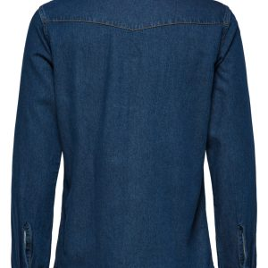 SELECTED homme ls shirt blue denim