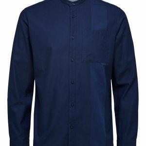 SELECTED homme ls shirt dark blue