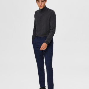 SELECTED homme half zip pull antracit