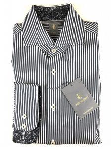 Jacques Britt ls shirt slim fit stripes
