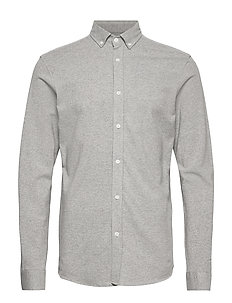 SELECTED homme knitted shirt ls grey