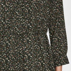 SELECTED femme 7/8 dress winter moss/aop