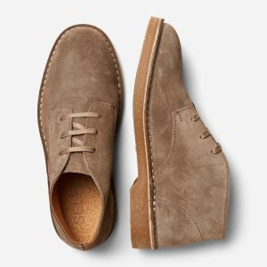 SELECTED homme suede boot almondine