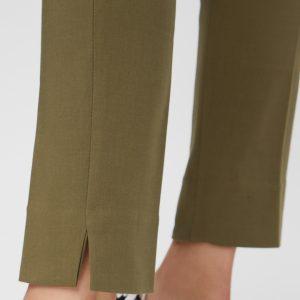 PIECES pants burnt olive